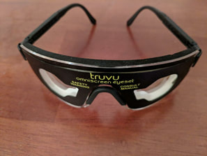 visual entrainment photic stimulation glasses