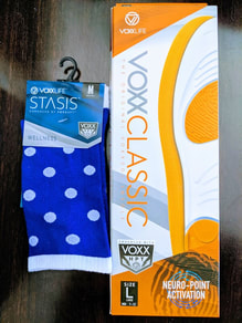Voxx socks and insoles